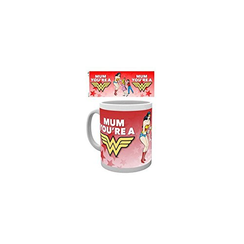 GB Eye, DC Comics, Mothers Day Wonder Mum, Tasse,