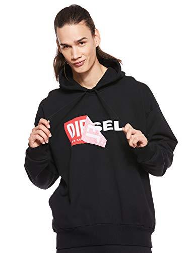 Diesel Herren 00S8WB0IAEG Sweatshirt, Schwarz (Black900), M