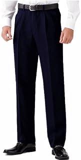 選べる裾上げ済みツータックビジネススラックス 夏物 ネイビー
