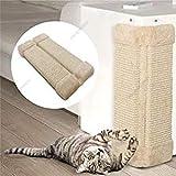 Kiki N Pooch Pet Kitten Corner Sisal Hanging Wall Scratcher Post Board