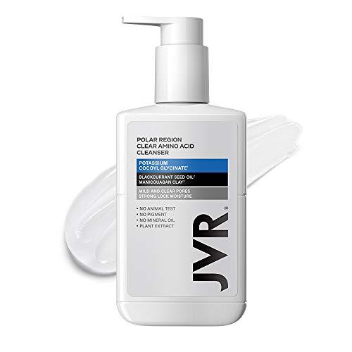 JVR Polar Region Amino Acid Face Wash, Gentle Hydration Facial Cleanser, Daily Wash for All Skin Types 180ml