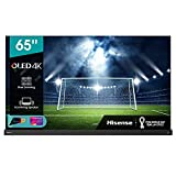 Hisense 65' OLED 4K 2021 65A98G, Soundbar Integrata 2.1.2 120W Dolby Atmos, Smart TV VIDAA 5.0, HDR Dolby Vision IQ, Controlli vocali Alexa / Google Assistant, Tuner DVB-T2/S2 HEVC 10, lativù 4K