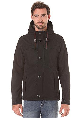 Ragwear Appa Sport Black Vegan Streetwear Jacke Jacket Mens Herren Windbreaker