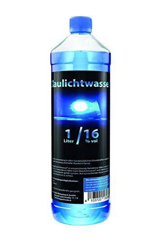 Blaulichtwasser - Blaulichtwasser 1/16-1 Liter PET-Flasche - Likör 16% vol.