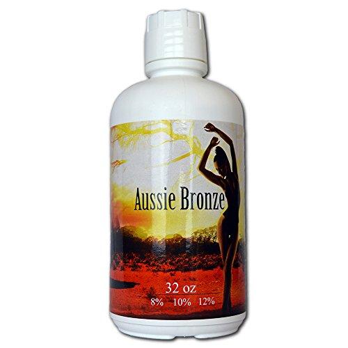 Aussie Bronze 12% Dark Sunless Airbrush Spray Tanning Solution 32oz