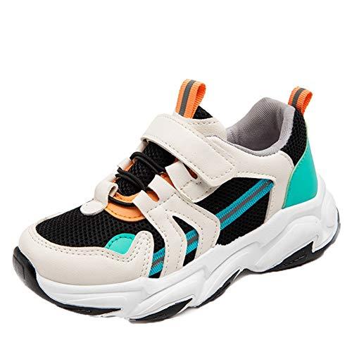 Zapatos Deportivos Casuales para niños cómodos Transpirables con Plataforma Zapatillas Bajas de Malla para niños niñas Suela Suave Zapatillas Ligeras Antideslizantes