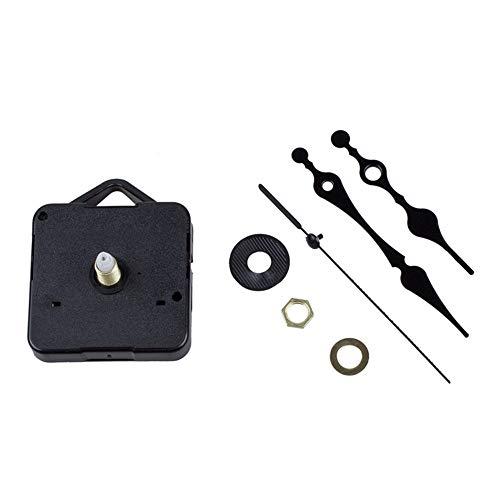 BJ-SHOP Uhrwerk,Quarzuhr Uhrwerk DIY Toy Repair Lange Spindel Geeignet fur Uhr Gesichter bis zu 6mm Dicke Ideal zum Reparieren, Ersetzen oder Erstellen Einer Uhr
