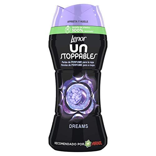 Lenor Unstoppables Dreams, Perlas de Perfume para la Ropa, 210 gr, 15 Lavados