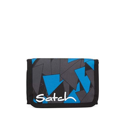 Satch Geldbeutel - Münzfach, Geldscheinfach, Sichtfenster - Blue Triangle - Blau