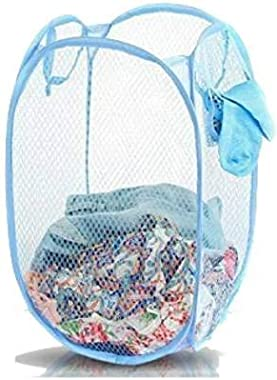Bb Backbenchers Laundry Bag Foldable & Collapsible Basket with Easy to Carry Handle - for Home, Dorms, Hostel, Toy Storag