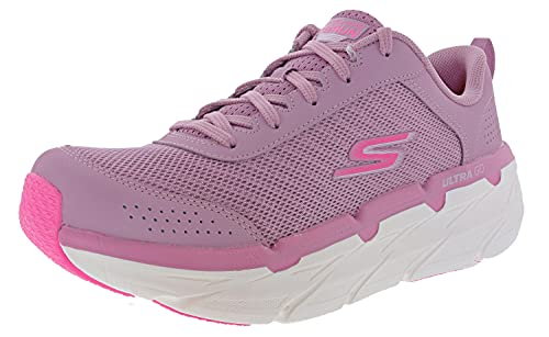Skechers Women's Max Cushioning Premier Graceful Moves Running Shoes, Mauve, 9