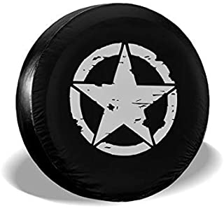 Fishing Spare Tire Cover Back Off Wheel Covers for Jeep Trailer RV SUV Truck Travel Trailer 14 15 16 17 Kejbr Spare Wheel Cover
