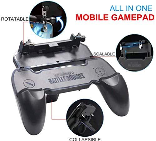 Gamepad löst Mobile Handgrip Game Controller aus Gaming Grip Remote Grips Ziel Joysticks Clutch Grip Telefonhalter Telefonzubehör für PUBG Mobile Fortnite Überlebensregeln Knives Out Epic Games su ma