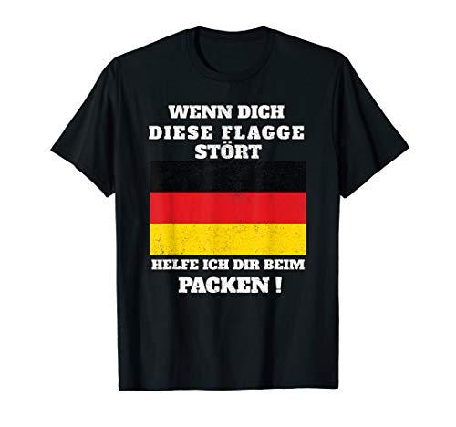 Deutschland Flagge I Patriotismus I Cooles Deutschland T-Shirt