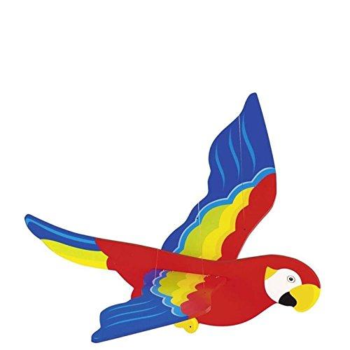 goki Papagei klein, Schwingtier