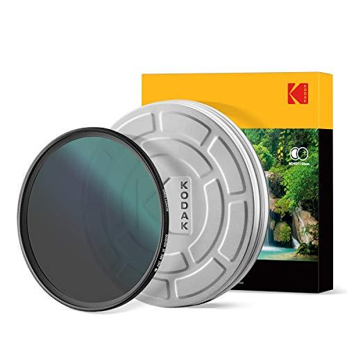 KODAK 58mm Schott Glass IR Neutral Density 1000 Filter   Super Slim Waterproof Polished Nano Multi-Coated 16 Layers   Prevents Overexposure Reduces Infrared   Retro Case & Filter Guide   PhotoGear +