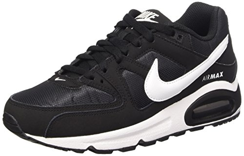 Nike Damen Air Max Command Sneakers, Schwarz (Black/White 021), 38 EU