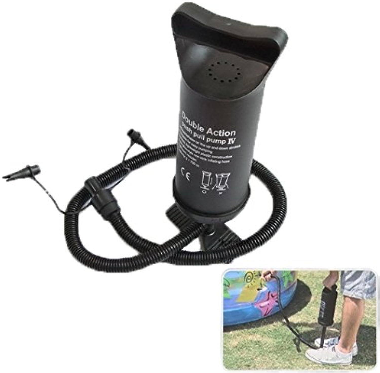 Praktisch Luftpumpe, Double Action Push Pull-Pumpe für Luftkissen, aufblasbare Spielzeuge, Spielzeuge, Spielzeuge, Schwimmring, zufällige Farblieferung B07P6W4KLF  | Sehr gute Farbe  8fff7d