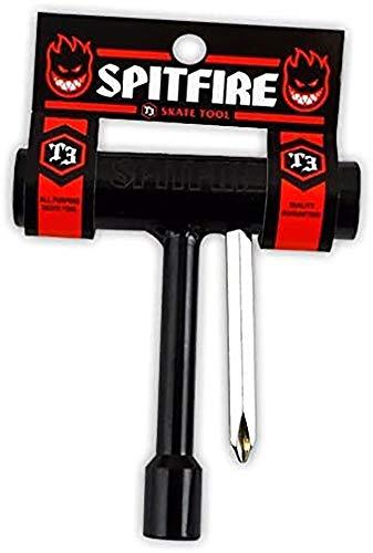 Spitfire T3Skateboard-Werkzeug, Schwarz