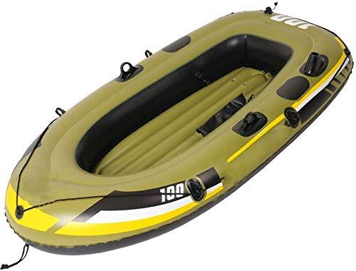 Xyy Barco Inflable, 56,6 * 33,4 Pulgadas, for niños Mayores de 9 Pool Party Safe Portable Respetuoso del Medio Ambiente del Agua del Bote de PVC Resistente al Desgaste Años de Edad Beach