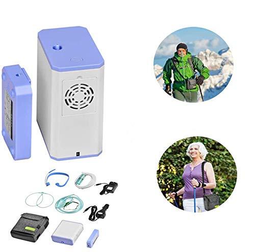 MAQRLT 3L concentrador de oxígeno portátil Inicio de oxígeno máquina de oxígeno...