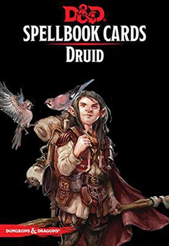 Gale Force Nine 73917 - Dungeons & Dragons: Druid Spell Deck REVISED (131 Cards)