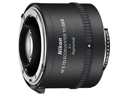 Nikon Auto Focus-S FX TC-20E III Teleconverter Lens with Auto Focus for Nikon DSLR Cameras (Renewed)
