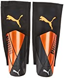 PUMA ftblNXT Pro Flex Sleeve Espinillera Futbol, Unisex-Adult, Shocking Orange Black White, XS