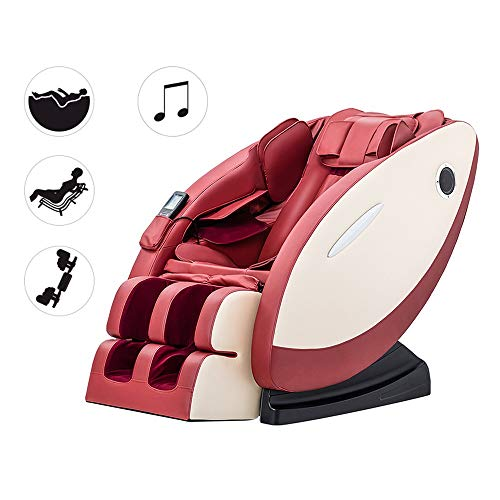 Review SDYBAMY Full-Body Massaging Chair, 3D Surround Sound, Zero Gravity, Heat Massage in The Back,...