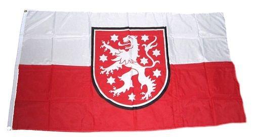 Fahne/Flagge Thüringen alt Löwe 90 x 150 cm Flaggen