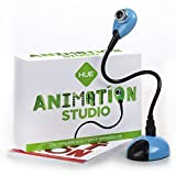 HUE Animation Studio (Blue) for Windows PCs and Apple Mac OS X: complete stop motion animation kit with camera, software and book (Renewed)