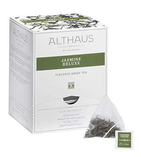 Althaus Pyra Pack Jasmine Deluxe 15 x 2,75g ⋅ Jasmintee im Pyramidenbeutel