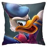 Yuanmeiju Donald Fauntleroy Duck Fundas de Almohada 18 X 18