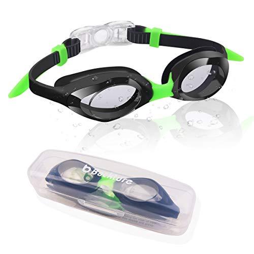 avis piscine rapport professionnel Lunettes de sécurité BACKTURE pour enfants, lunettes de sécurité ajustables pour la natation intérieure et extérieure,…