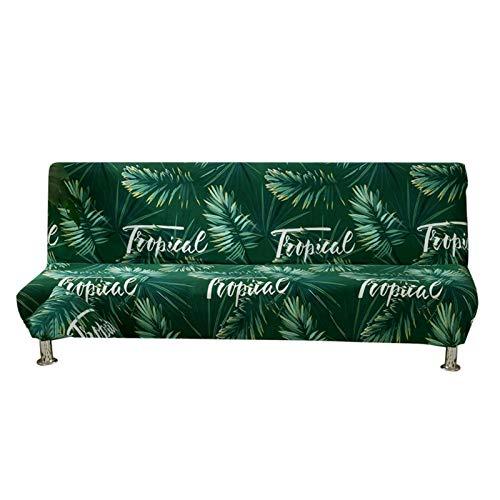Tanbea-UK - Copridivano pieghevole in poliestere elasticizzato e spandex, per divano e divano con elastico