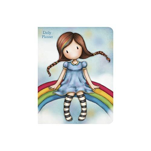SANTORO Gorjuss Agenda Diaria 975GJ01 - Rainbow Heaven