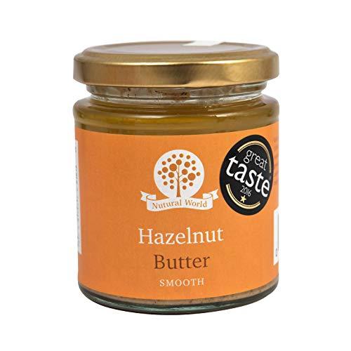 Nutural World - Beurre de noisette onctueux (170g) Vainqueur des Great Taste Awards