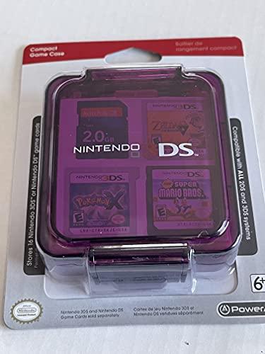 공식 닌텐도 3DS | DS 16 게임 스트로지 케이스 - 클리어 퍼플