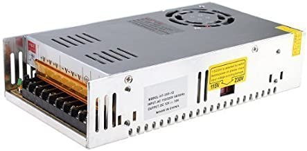 MENZO 12v 30a Dc Universal Regulated Switching Power Supply 360w for CCTV, Radio, Computer Project