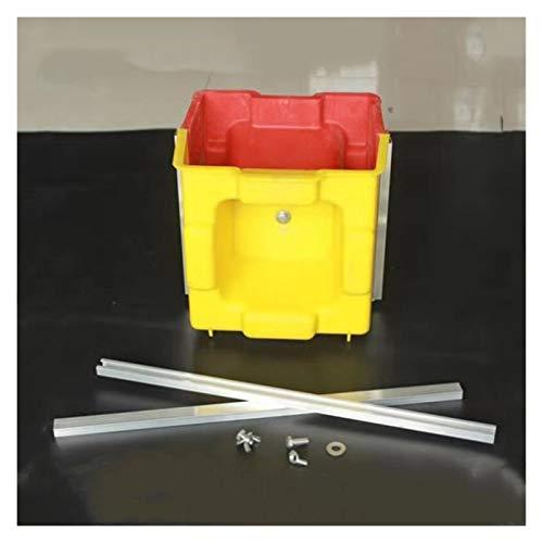 20cm de plástico simple Más rápido eficiente barato de Economía construcción hueca Hormigón Cemento pavimentación Enclavamiento de ladrillo bloque de molde Molde Cemento (Color : Light Grey)