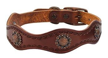 Weaver Leather Sundance Dog Collar 1 x 19-Inch Brown