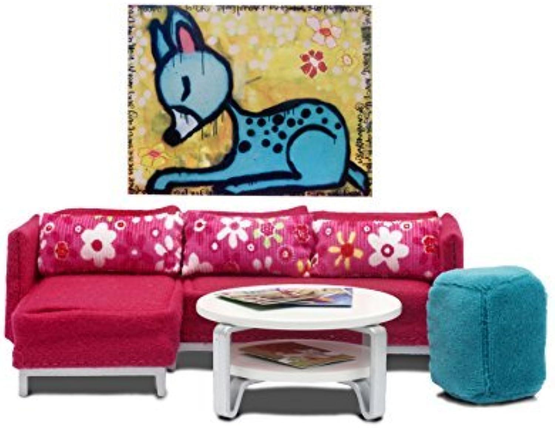 ventas directas de fábrica Lundby Lundby Lundby Stockholm Sitting Room Jugarset by Lundby  excelentes precios