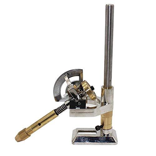 HYLH Jade Schleifen Facettierter Manipulator Edelstein Facettiermaschine Juwel Winkelfräsen Poliermaschine (32er Skala)