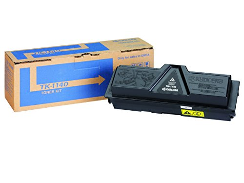 Kyocera TK-1140 Cartucho de tóner Negro 1T02ML0NLC para ECOSYS M2035dn, ECOSYS M2535dn, FS-1035MFP/DP, FS-1135MFP