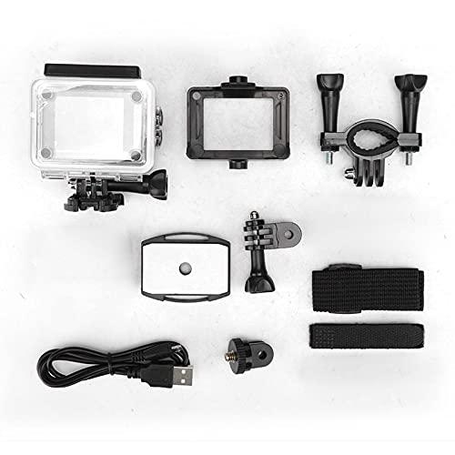 iFCOW 1080P deportes al aire libre cámara de acción impermeable alta definición cámaras de ángulo de 110 grados