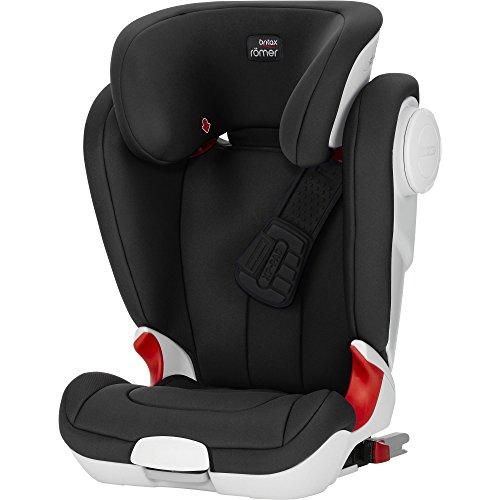 Britax Römer Kindersitz 3,5 - 12 Jahre I 15 - 36 kg I KIDFIX XP SICT Autositz Gruppe 2/3 I Cosmos Black