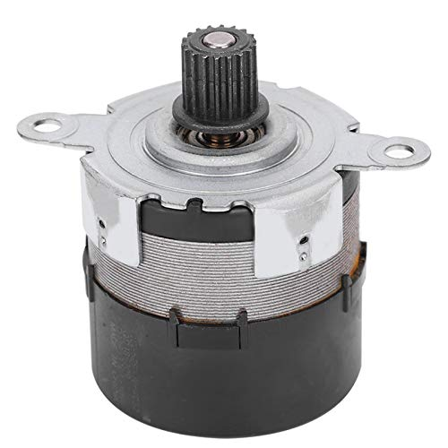 Servomotor DC sin escobillas de doble canal, hilos giratorios Motor de engranajes de doble canal Equipo codificador de 100 líneas para máquinas expendedoras, coches de juguete(24V)