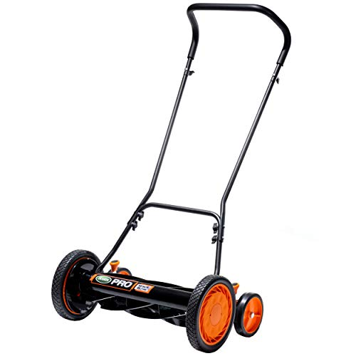 Scotts 716-18S 18-Inch 7-Blade Push Manual Reel Lawn Mower, Green