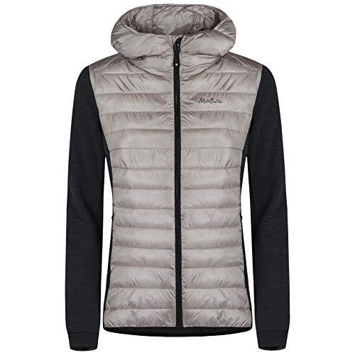 MONTURA Wool Essential Hoody Jacke für Damen, Modell MJAC82W, Rosa, Pink S