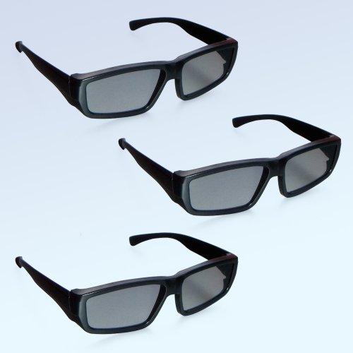 3x passive Designer 3D-Polfilterbrille - Modell